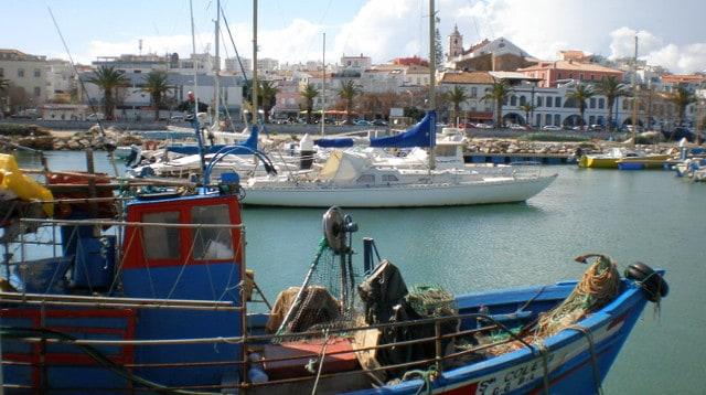 Lagos Harbour Portugal