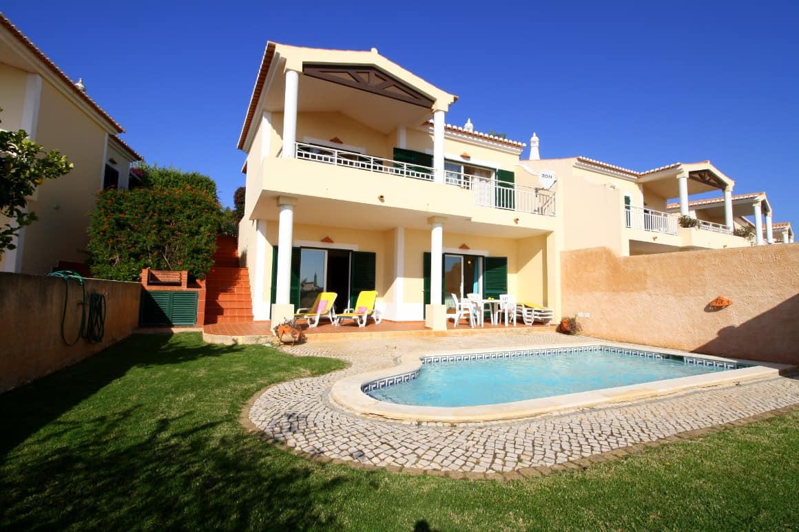 Miramar pool garden Algarve Villas Luz