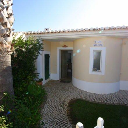 Villa Miramar Front Door