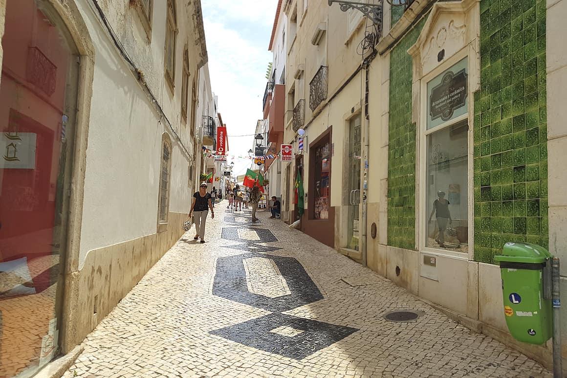 Lagos Street Algarve Villas Luz
