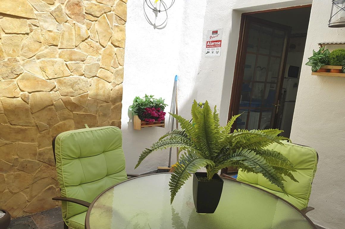 Casinha Patio Algarve Villa Luz
