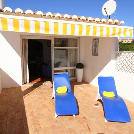 Terrace of Bay Villa Algarve Luz Rentals