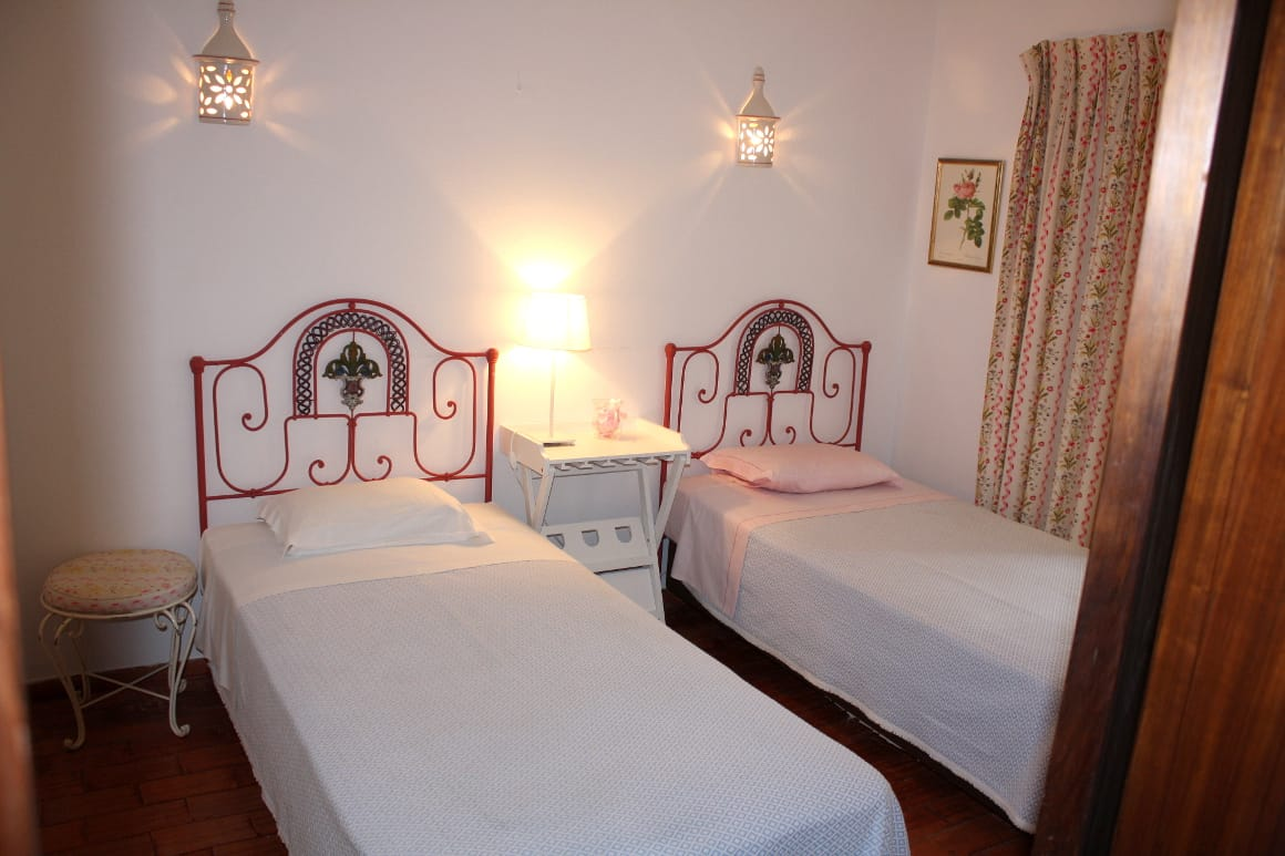 Algarve Luz Vacation Villa Twin Beds