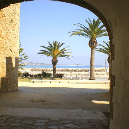 Lagos Castle Arch Algarve Villas Luz