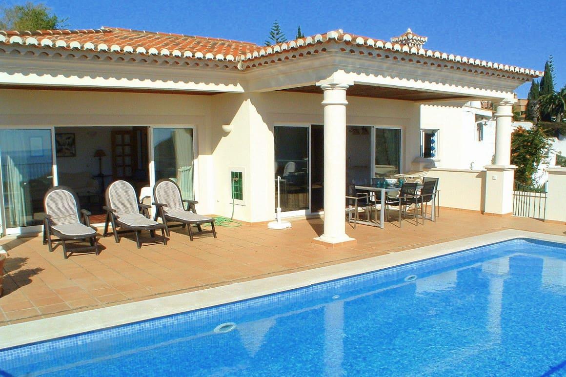 Bonita Algarve Villa Luz Pool area