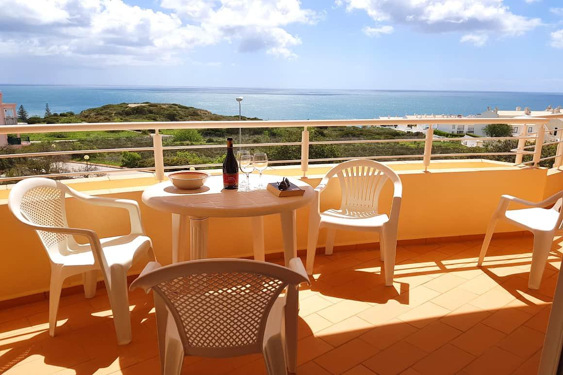 B2F Veranda Sea View Algarve Villas Luz
