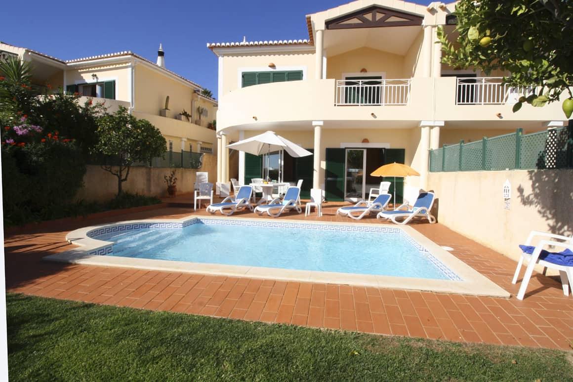 Sossego Pool Algarve Villas Luz