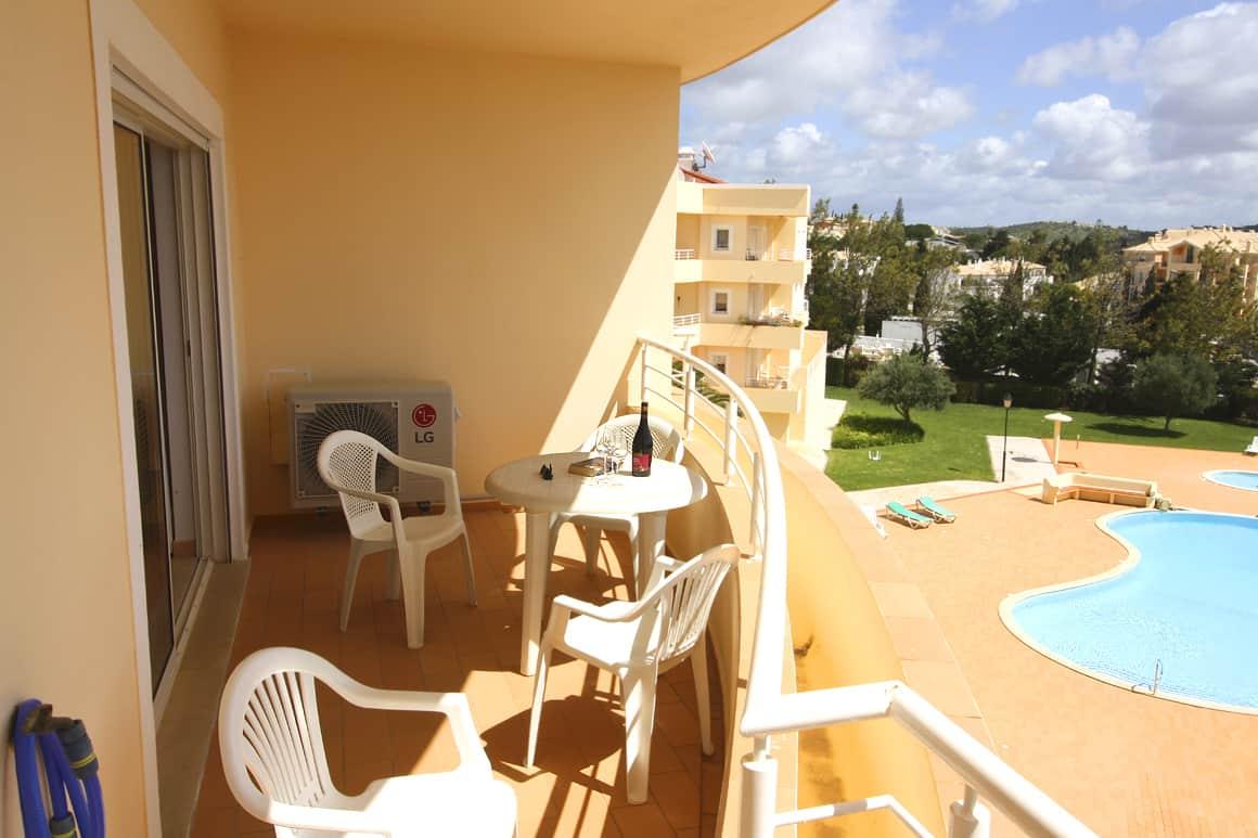 Acacias Apt B2F Veranda Pool View Algarve Villas Luz