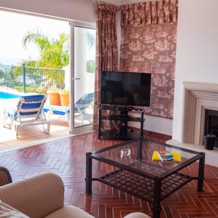 Bonita Algarve Villa Luz TV Wood Stove