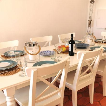 Bay Villa Dining Luz Algarve rentals