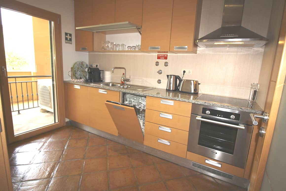 Domus Burgau Apt FD Kitchen