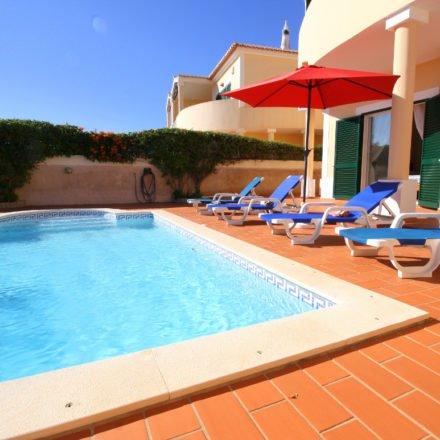 Acacias Casa Bela Nova Pool Area