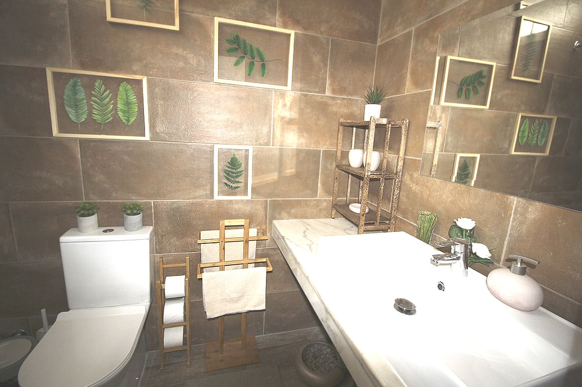 Lagos Townhouse Bathroom