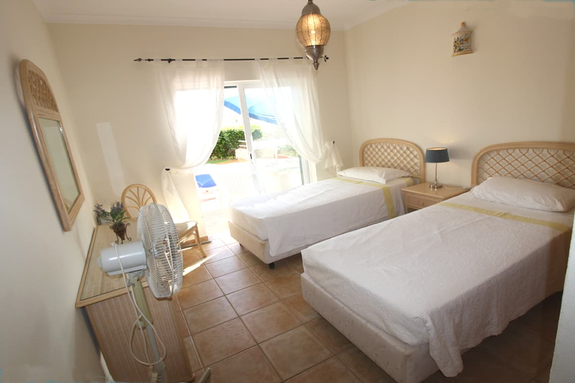 Sossego Twin Beds Algarve Villas Luz