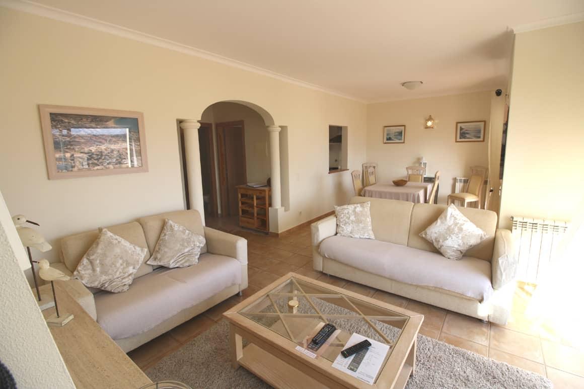 Living Room Sossego Algarve Villas Luz