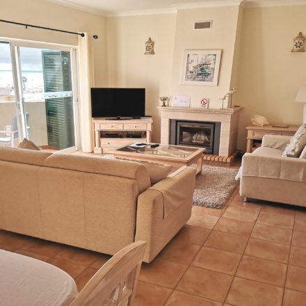 Sossego Living Area Algarve Villas Luz