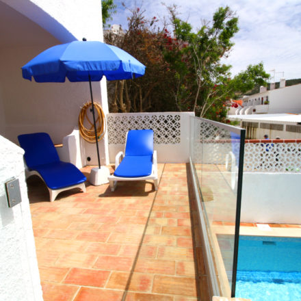 Algarve Vacation Rental Bay Villa Terrace