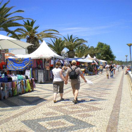 Lagos Market Stalls Algarve Villas Luz