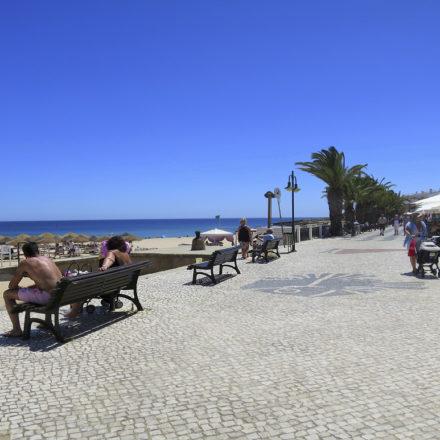 Seats at Luz Beach Square