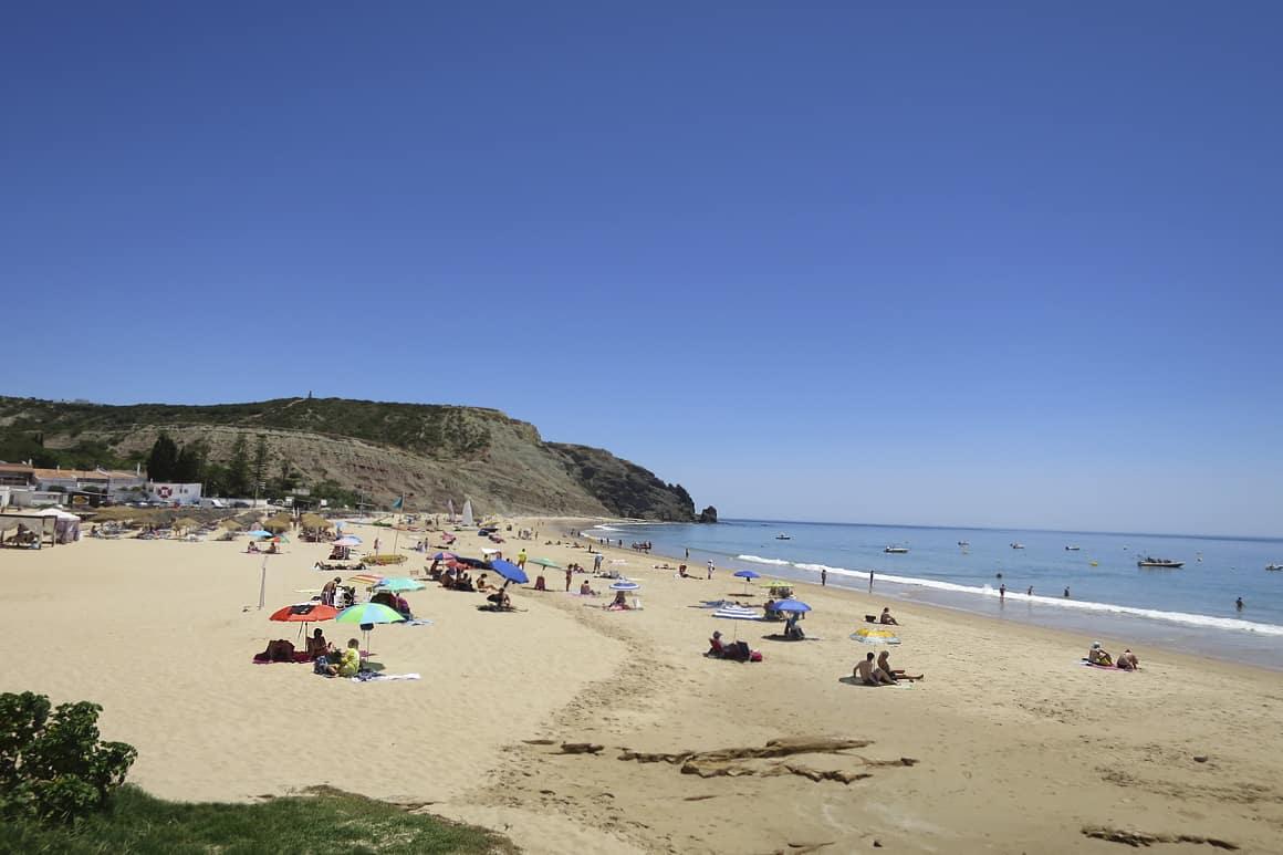 Luz Blue Flag Beach Algarve Villas Luz