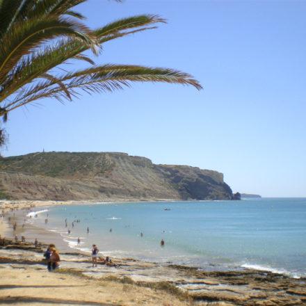 Luz Bay and Black Rock