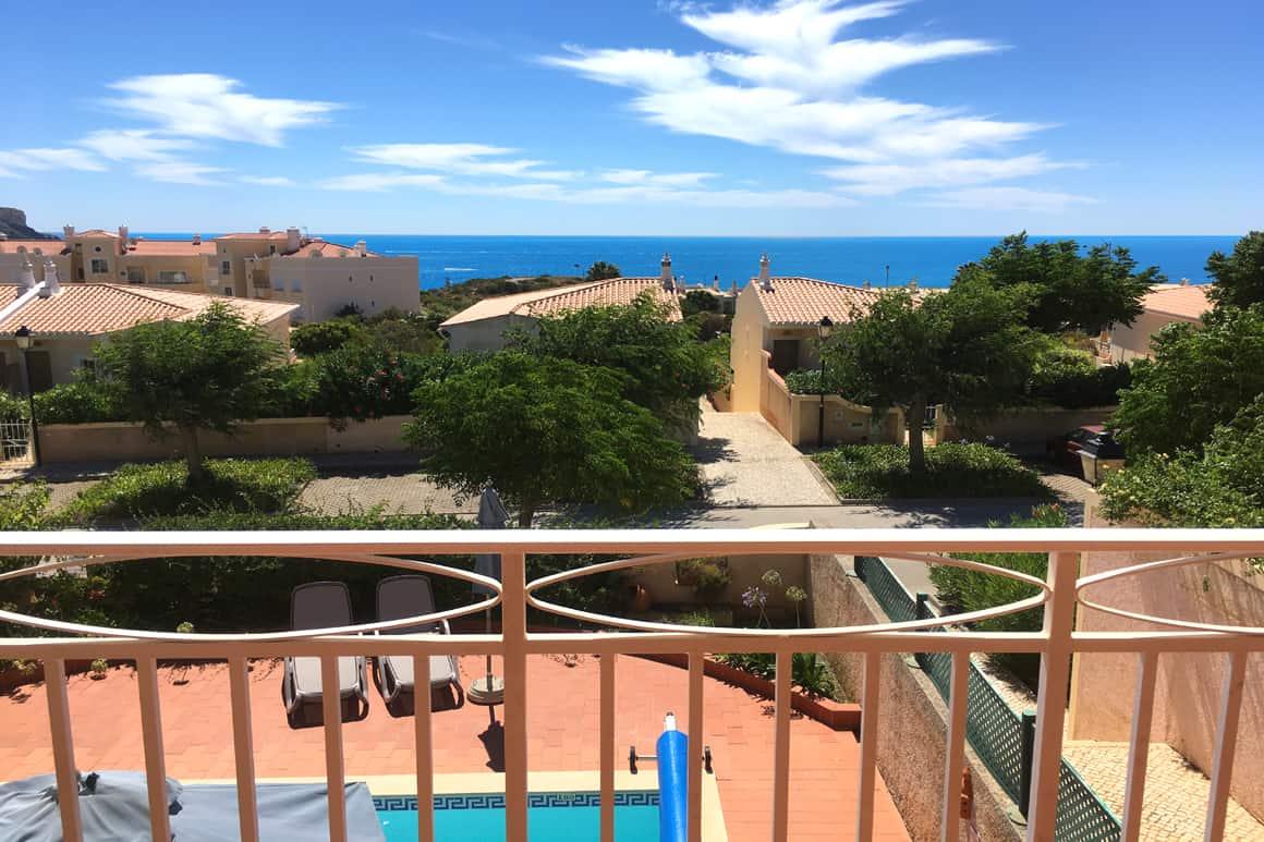 /veranda Sea Views Algarve Villas Luz