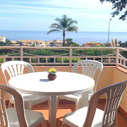Upstairs Veranda with Sea Views