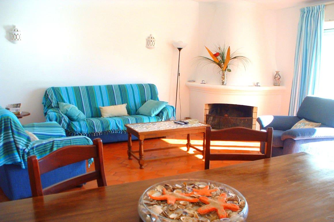 Algarve Villa Rentals Vinha Living Room