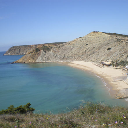 Burgau Beach Portugal