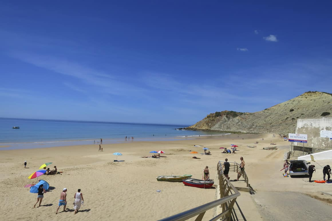 Burgau Family Beach Portugal