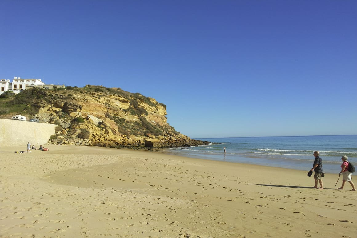 Burgau Sandy Beach Portugal