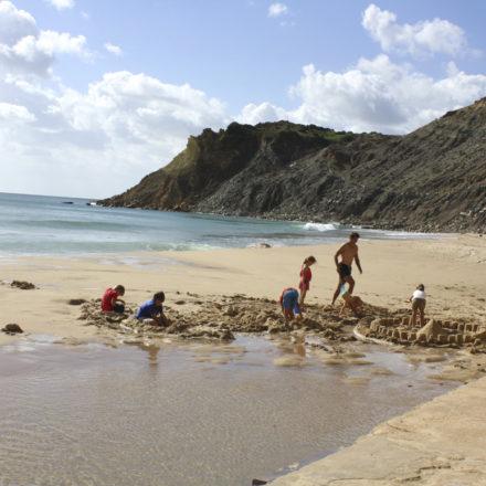 Burgau Beach Portugal