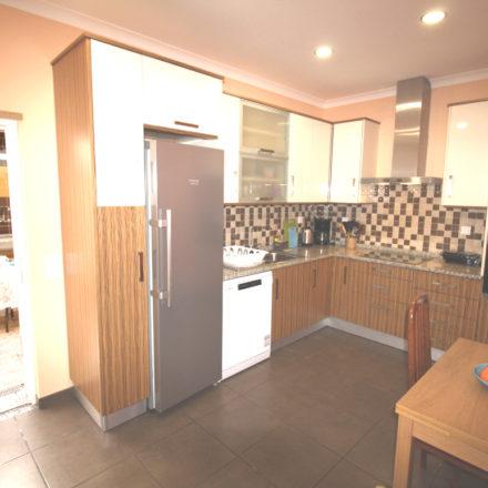 Casinha Azul Kitchen courtyard Algarve Villas Luz