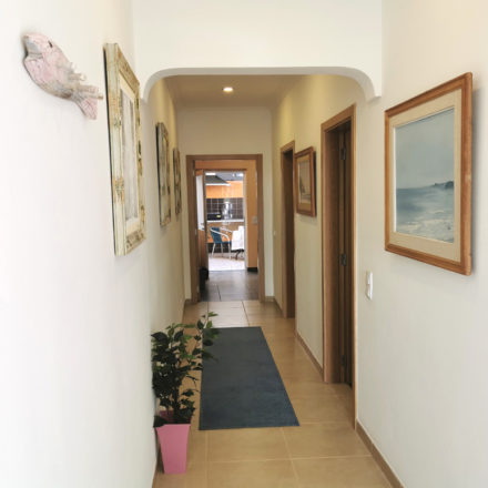 Casinha Azul Front Hall Algarve Villas Luz