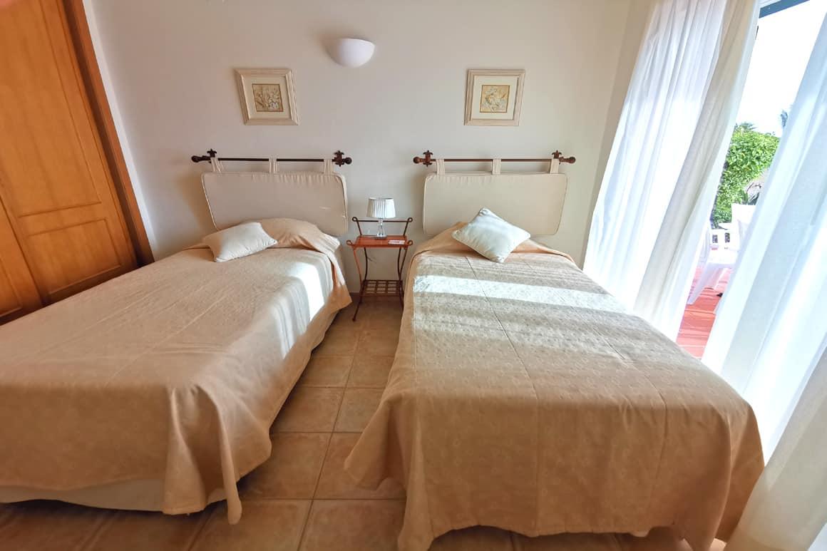 Twin Bedroom Villa 23 Algarve Villas Luz