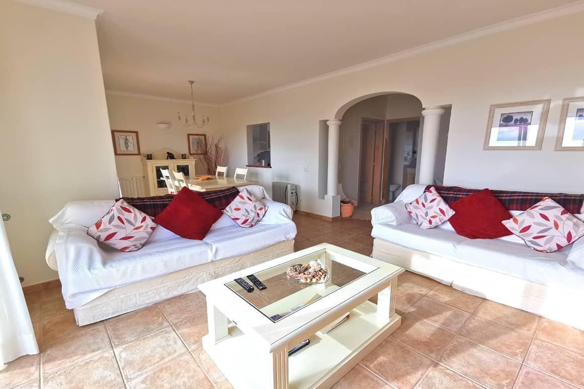 Villa 23 Living Room Algarve Villas Luz