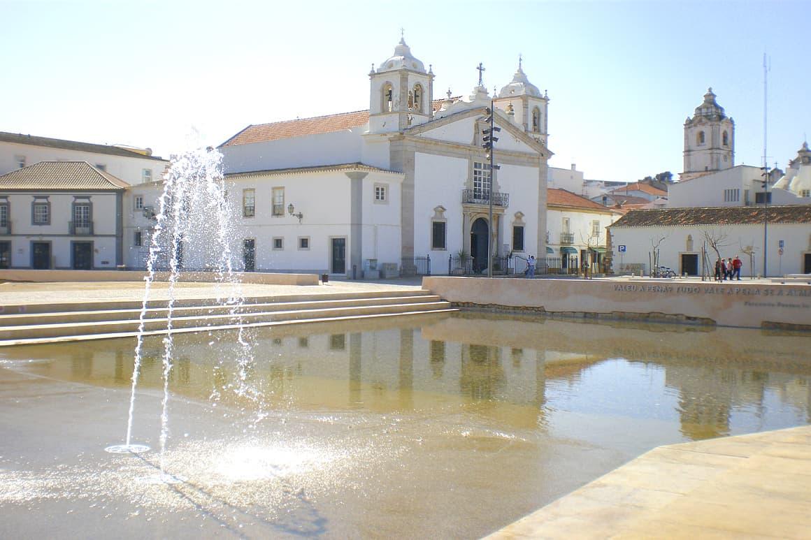 Lagos Old Church Algarve Villas Luz