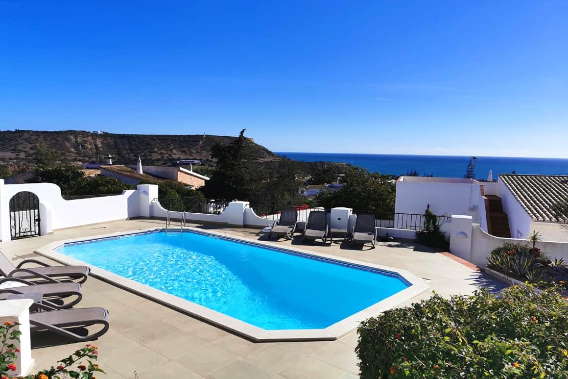 Sea Pool View Algarve Villas Luz Rentals